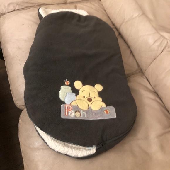 Disney Winnie the Poo car seat winter cover